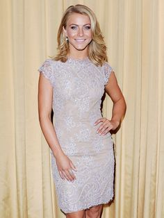 This is the ideal lavender color with a touch of sparkle for a summer #wedding! #JulianneHough #WeddingInspirations