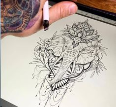Elephant tattoos with flowers elephant tattoos elephant tattoos _ _ small elephant tattoos mother daughter _ elephant tattoos sense _ elephant tattoos with flowers _ elephant tattoos for women _ Elephant Tattoos sleeve tattoos _ Elephant Men Hip Tattoos Women, Girls With Sleeve Tattoos, Trendy Tattoos, Cute Tattoos, Leg Tattoos, Flower Tattoos, Tribal Tattoos, Tattoo Women, Music Tattoos