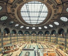 Photographer Franck Bohbot has traveled all over the world in a quest to document the captivating beauty of libraries for his ongoing series titled 'House of Books.'