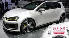 Volkswagen reveló el concepto Golf R 400 en