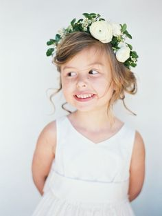 View entire slideshow: Adorable Flower Girls on www.stylemepretty...