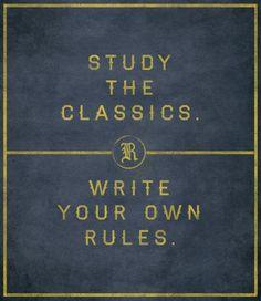 Ralph Lauren quote.