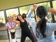 Enjoy fantastic fitness classes on a singles wellness holiday at Canyon Ranch Miami.