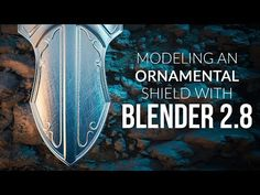 Modeling an Ornamental Shield in Blender (2.8) - YouTube