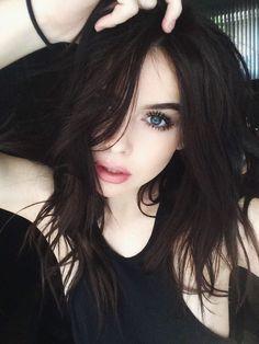 Risultati immagini per almost black capelli