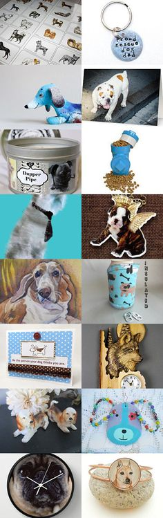 For the Dogs by Margie on Etsy--Pinned+with+TreasuryPin.com