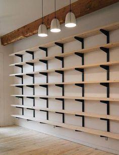 57 New Ideas Wall Office Organization Bookshelves #wall