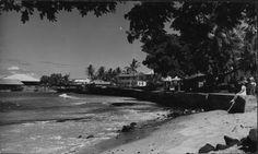 Kailua waterfront, Hawaii Island.