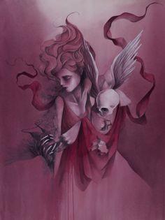 wings craneo #art