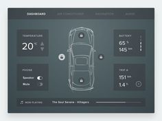 Sketch App free sources, Basic Car Interface resource, for Sketch App. Dashboard Interface, Dashboard Design, User Interface Design, Ui Design, Free Design, Print Design, Car App, App Design Inspiration, Daily Ui