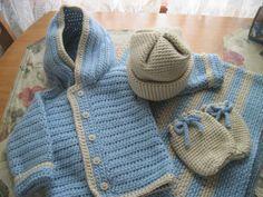 Crochet Layette Set #2
