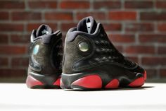 Air Jordan 13 Retro Black / Gym Red-Black – New Images, Release Info