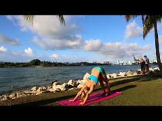 Ashtanga Yoga Sun Salutations on Miami Beach with Kino MacGregor