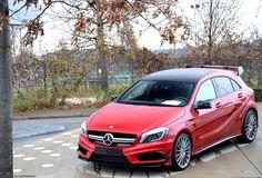 #Mercedes Benz A45 #AMG #MercedesBenzofHuntValley