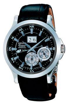 Que es un reloj Seiko Kinetic: Reloj Seiko Kinetic Calendario Perpetuo, de la gama Premier (SNP005)