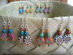 fimo earing | simple design,just details makes its to someth… | Flickr