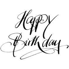 H.- Stempel Happy Birthday