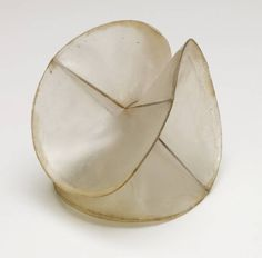 naum gabo's model for 'spheric theme'