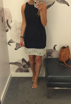 Lilly Style: Fitting room snap-shots - Ann Taylor - everything 50% off
