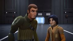 """Funniest part of Fire Across the Galaxy,: Kanan: """"The Inquisitor's TIE!"""" Ezra: """"Well, we know he's not gonna use it."""" Kanan: """"You know what, kid? You worry me sometimes."""