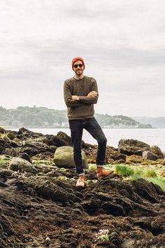 June 12, 2014. Daytime. Sweater: Topman - $80 - (similar)Jeans:Levi's 511in Rigid Dragon- Nordstrom - $50Boots: Dune - Topman - $120 (similar)Watch:Stillwell in Chocolate- Jack Spade (c/o)Beanie: Urban Outfitters - $10 (similar)Sunglasses:Kinney- Garrett Leight (c/o) Shop outfit or similar:  //