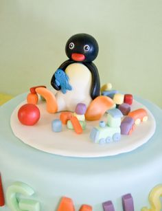 Pingu cake for ceejays 2nd