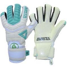 Aviata Stretta Venum Blanco V3 Finger Protection Goalkeeper Gloves - model ASVB3 - Only $72.99