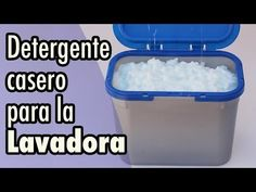 Cómo hacer detergente casero para la lavadora - YouTube Natural Face, Projects To Try, Soap, Youtube, Videos, Tips, Crafts, Pastel, Perfume