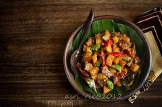 Food and Story: Sambal goreng ati kentang Asian Recipes, Ethnic Recipes, Indonesian Food, Kung Pao Chicken, Vegan, Cooking, Easy, Foods, Beverages