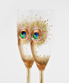 Perfect champagne glasses