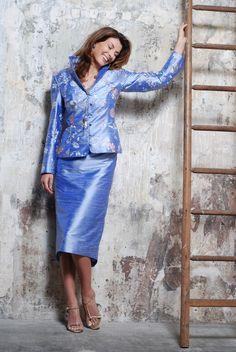 50% Off... Paule Vasseur 3-Piece, Style: BEL-ALE-WIS;   Colour: 402 Lavande Blue. (Size 20)