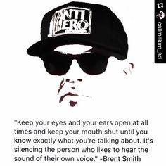 #Repost @callmekim_sd: #Shinedown #BrentSmith #quote
