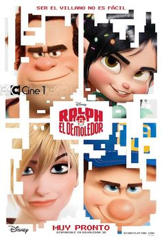 Disney Animation's Wreck-It Ralph Poster