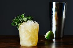 MAI TAI - How to Make a Classic Mai Tai on 1 ounce amber rhum agricole 1 ounce Jamaican rum 1 ounce lime juice ounce orange curaçao ounce orgeat syrup Mint, flowers, or umbrella for garnish Bar Drinks, Non Alcoholic Drinks, Yummy Drinks, Cocktail Maker, Tiki Cocktail, Mai Tai, Old Fashioned Glass, Classic Cocktails, Whiskey Cocktails