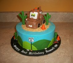 Tow Mater Cake — Childrens Birthday Cakes