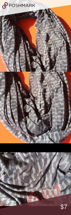 Infinity Scarf Super soft fabric, new without tags's. Wraps twice comfortably, could be wrapped three times for extra warmth. Color is accurate in photos Accessories Scarves & Wraps