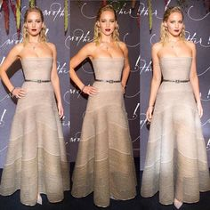 Cada dia uma #JenniferLawrence humilhando com um look diferente! Que fasw que JLaw tá hein?!