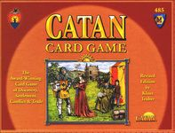 This is the two-player card version of Settlers of Catan... really fun, hubby and I play it all the time. 5 different expansions available too. I find requires more strategy than the board game version.