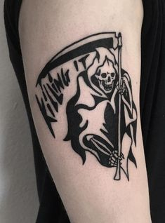 27 Bold Illustrations Blackwork Tattoos - #tattoos #blackwork