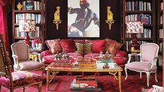You Know Your Decorating Style Is Maximalist When...In a room, there is never enough to look at.