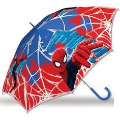 Children's semi-automatic umbrella Spiderman Ø from wholesale and import
