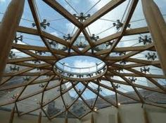 reciprocal roof design - infinite lotus :)