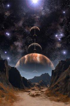 Wallpaper Earth, Planets Wallpaper, Wallpaper Space, Nature Wallpaper, Landscape Wallpaper, Hd Galaxy Wallpaper, Space Planets, Space And Astronomy, Galaxy Planets
