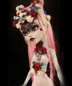 RESERVED OOAK Monster High 17 Frankie Stein Custom