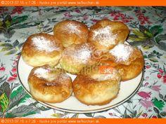 Babičkine šišky Pretzel Bites, Baked Potato, Hamburger, Muffin, Potatoes, Bread, Baking, Breakfast, Ethnic Recipes