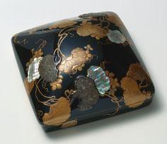 東京富士美術館 漆工コレクション 夕顔蒔絵螺鈿硯箱