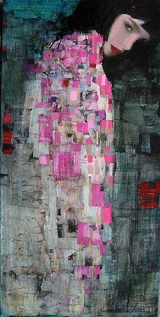Richard Burlet, Französischer Maler, geb. 1957