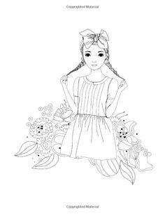 Lilt Kids Coloring Books Fashion Design Chic Book Volume 2 Amazon