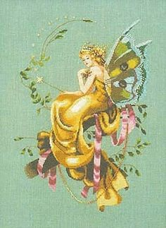 Woodland Fairy - 1/7 Solo Patrones Punto Cruz (pág. 378) | Aprender manualidades es facilisimo.com