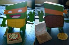 Tektonten Papercraft - Free Papercraft, Paper Models and Paper Toys: TMNT Paper Toys